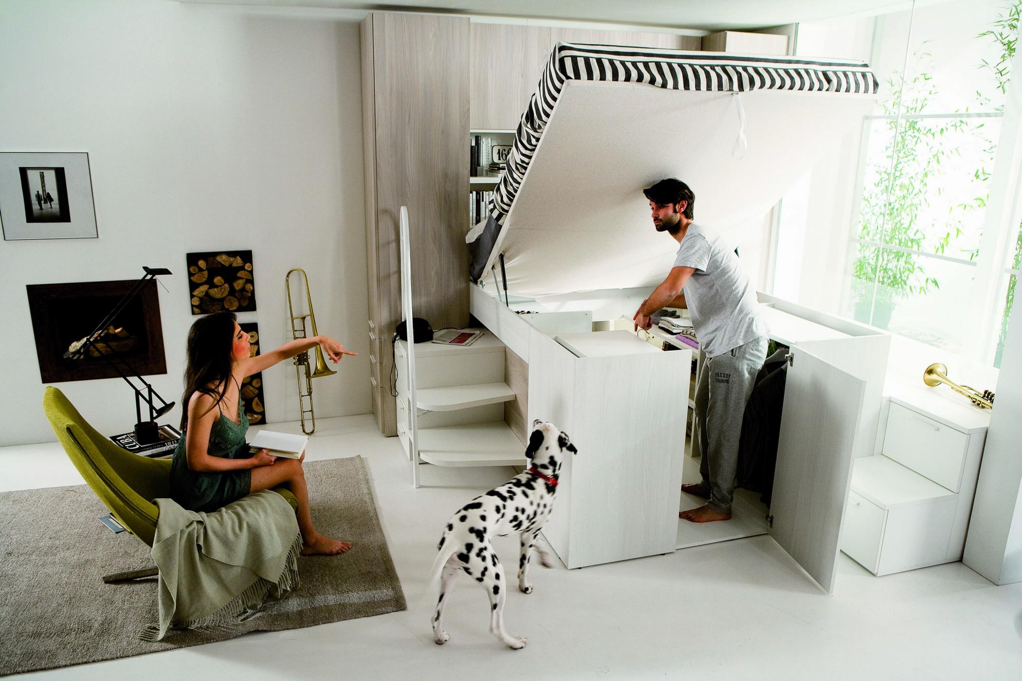 dielle modus: a bed, a project - doimo