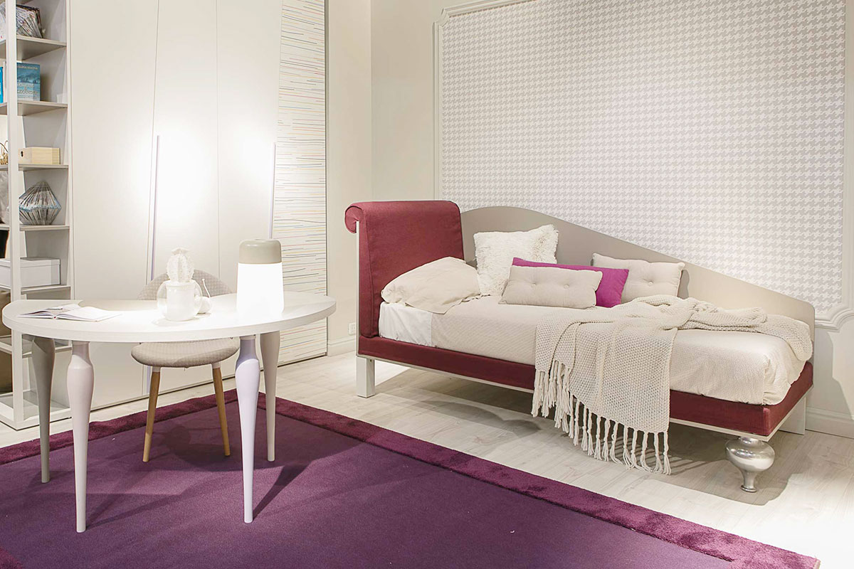DIELLE MODUS: NUOVO LETTO STYLE-style bed Novità al Salone del Mobile 2017
