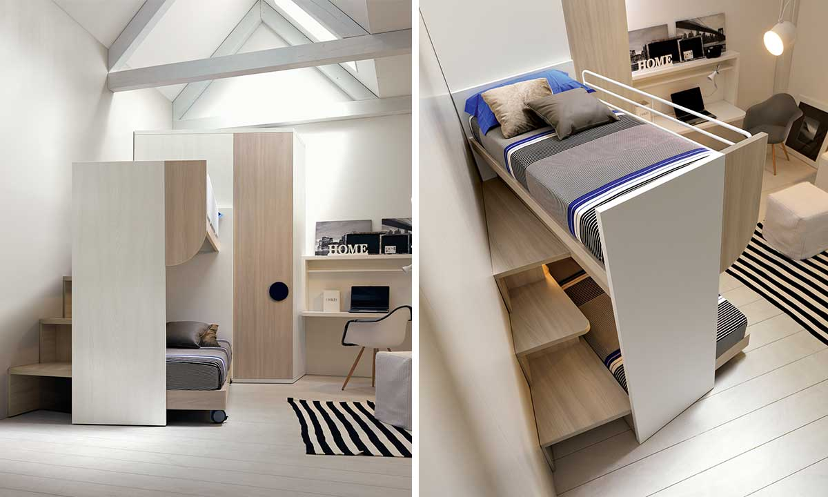 BUNK BED 15 BY DOIMO CITYLINE - Doimo