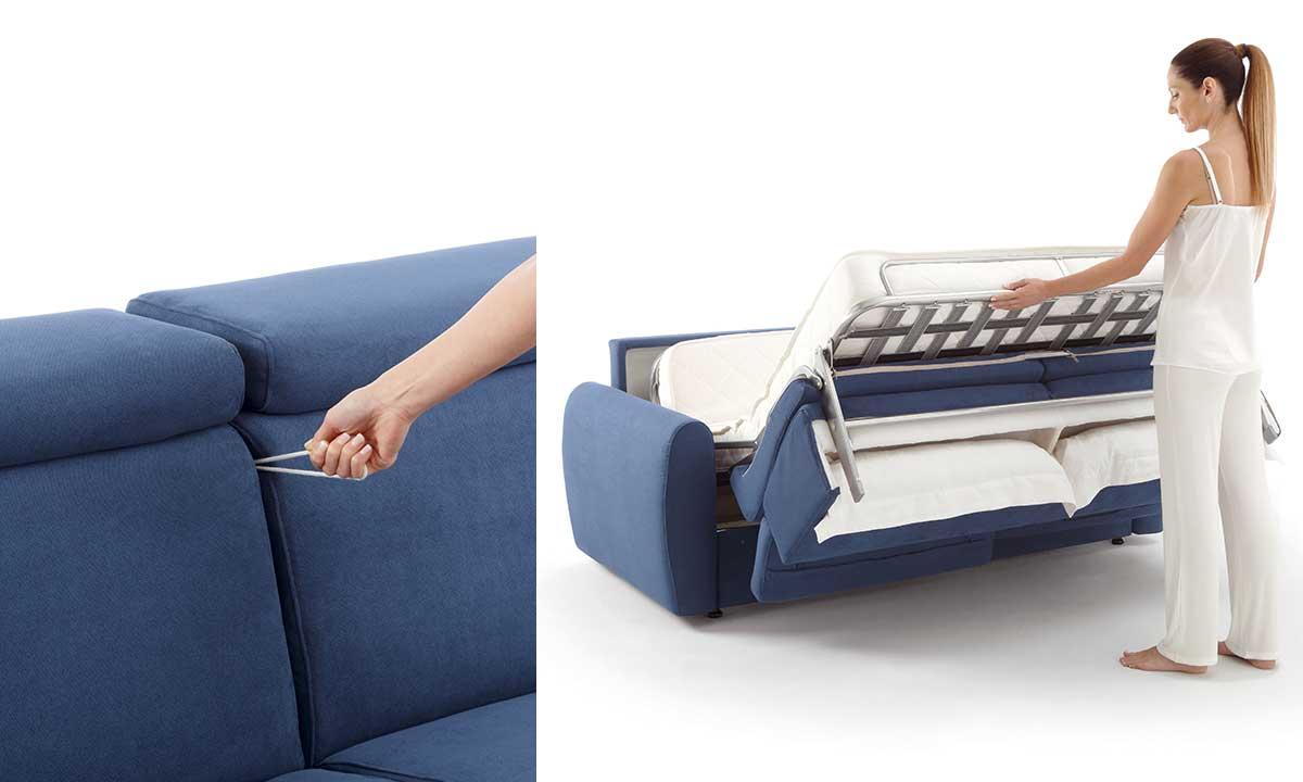 SOFA BEDS: LET\'S CHOOSE THE CONVERTIBLE SOFAS - Doimo