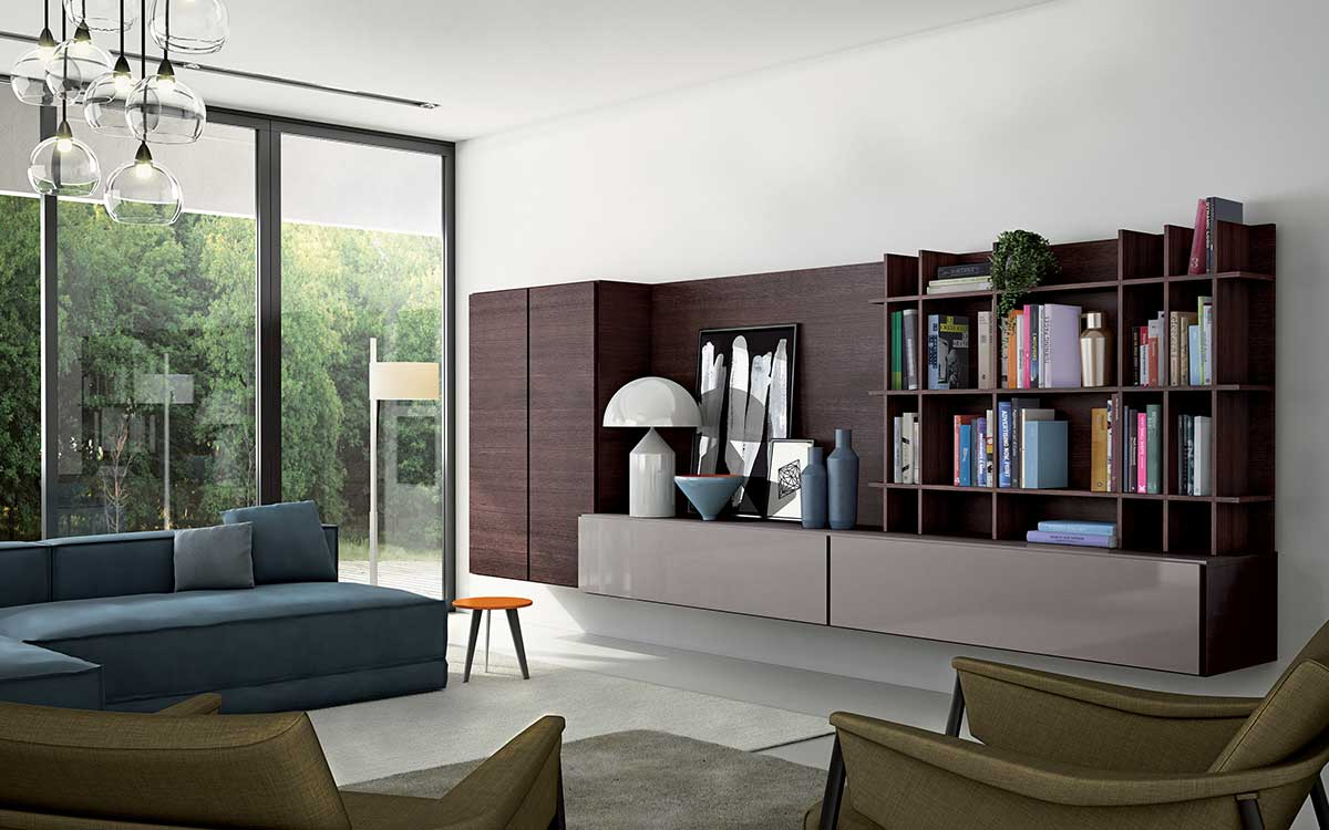 THE ITALIAN STYLE LIVING ROOM FOR THE WHOLE FAMILY - Doimo