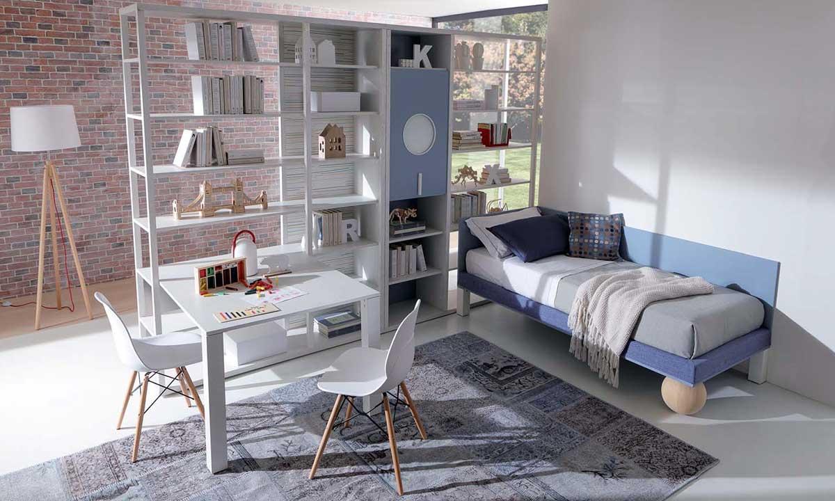 Scrivania A Scomparsa Con Libreria : I compiti per casa si fanno meglio nella cameretta con studio